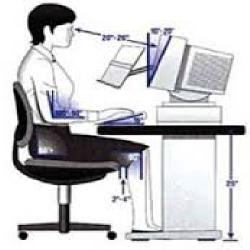 دانلود تحقیق ارگونومی و راه های جلوگیری از خستگی در کار با کامپیوتر